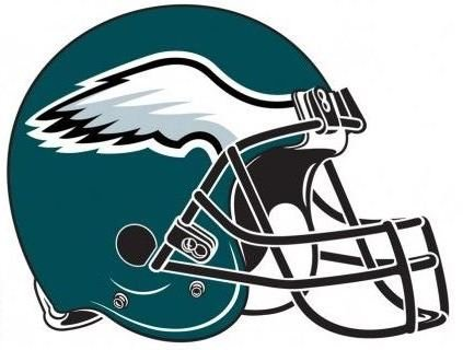 FATHEAD Philadelphia Eagles Team Helmet Logo Official NFL Vinyl Wall Graphic 14
