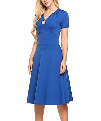 不測の事態お香抜本的なACEVOG DRESS レディース US サイズ: XL カラー: ブルー