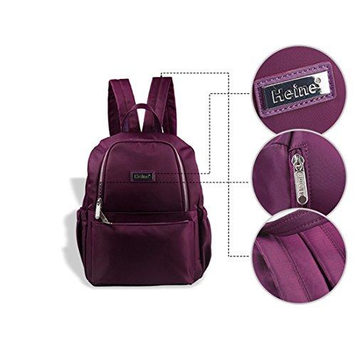 mqforu bolsa de pañales bolso cambiador mochila de viaje con gran capacidad rojo rosso Rosa y rojo
