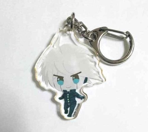 Danganronpa V3 Acrylic Keychain Charm Kibo Fuwaponi Spike Chun Soft Game Anime