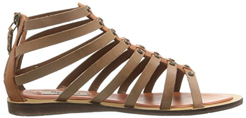 femme Pepe Marron Jeans Sandales 875 Gayton Roman IIw4UqgR
