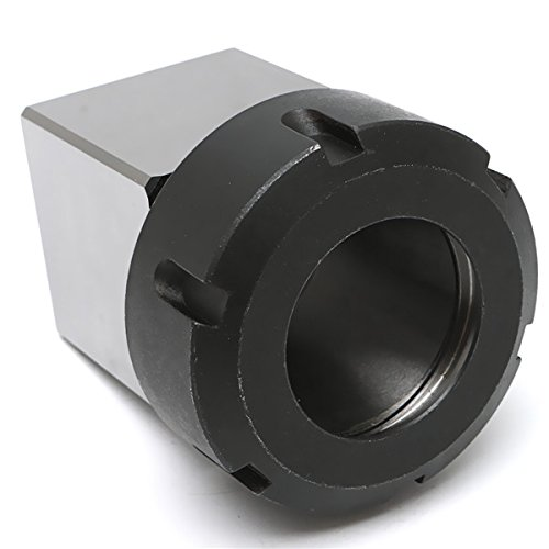 Hard Steel Square ER-40 Collect Chuck Block CNC Lathe Tool Holder