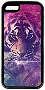 Tiger Theme Hard Back Cover Case For Iphone 5C