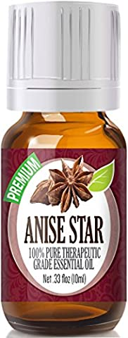 Anise Star 100% Pure, Best Therapeutic Grade Essential Oil - 10ml - Health Star