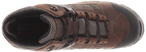 Pictures of Timberland PRO Men's Hyperion Four-Inch Brown Distressed Leather/Fabric 2
