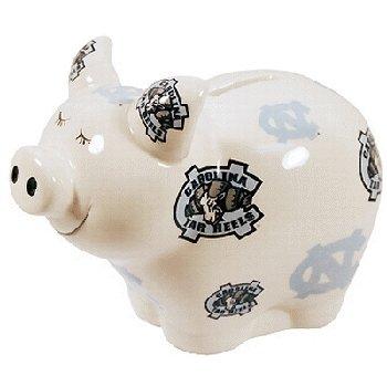 UPC 731247509819, NCAA North Carolina Tar Heels Piggy Bank with All Over Logo
