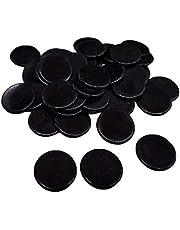 rongweiwang 100 stuks/Set Plastic 19mm Chips Multi Kleur Markers Fun Familie Bingo markers Multi Club Kinderen Spelbenodigdheden Tellen Wiskunde Speelgoed
