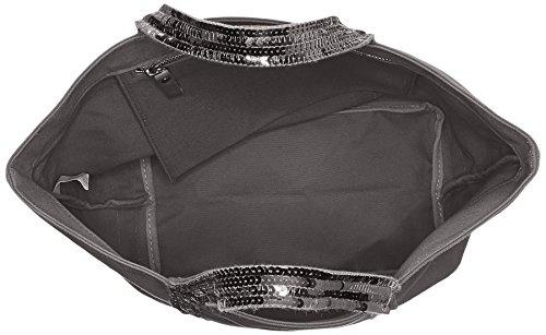 medium Cabas 998 Bruno Gris paillettes coton Anthracite Vanessa 5EROw7qx