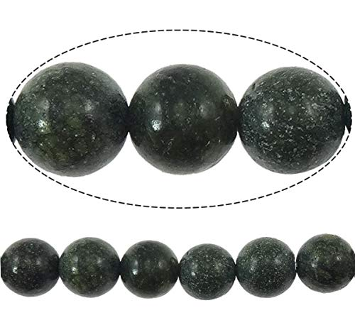 Calvas Russian Serpentine Beads New European and American Style, Round, Natural, 8mm, Hole:Approx 1mm ()