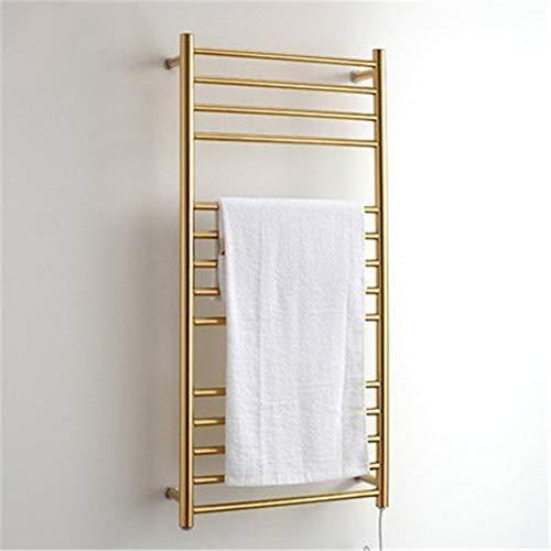 - Frame Free Standing Towel Rail Warmer Wall Mount Radiator,Electric Bathroom Drying Towel Racks, Stainless Steel Bathroom Holder 304 Pendant