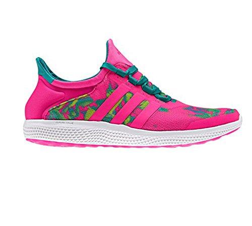 Adidas Prestanda Kvinna Cc Sonic W Löparskor Chock Rosa / Chock Rosa / Utrustning Grön