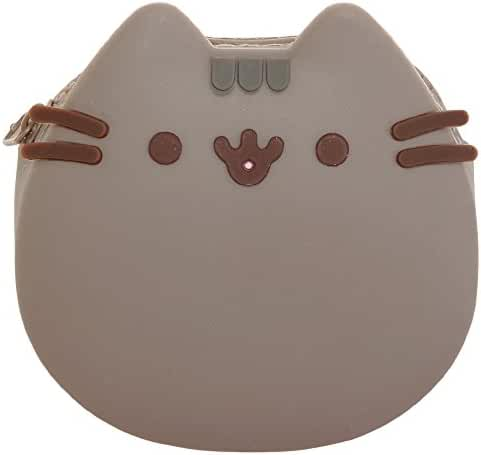 Pusheen the Cat Silicone Zipper Coin Purse