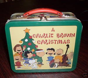 Amazon.com: Hallmark SCHOOL DAYS LUNCH BOX Peanuts CHARLIE BROWN ...