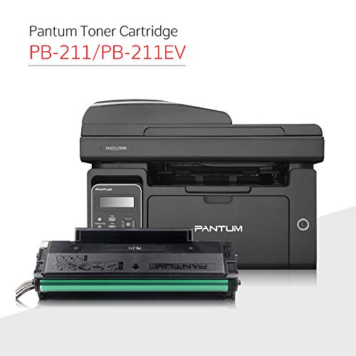 Pantum M6552NW Monochrome Laser Multifunction Printer with Wireless Networking Mobile Printing Large Paper Capacity by Pantum (Image #2)