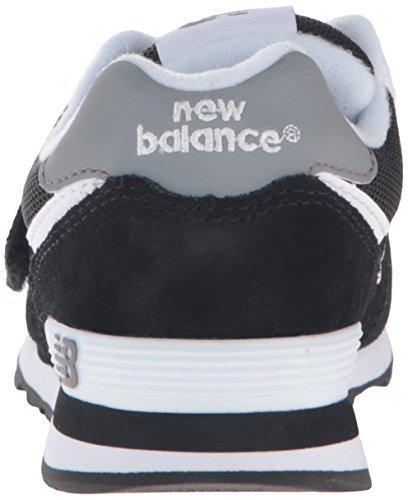 New Balance 574, Zapatillas Altas Unisex Niños Negro