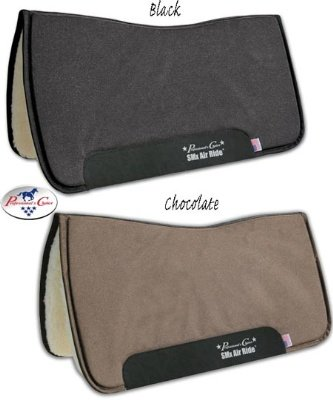 Professional's Choice Pro Choice SMx Air Ride All-Around Felt Pad Black