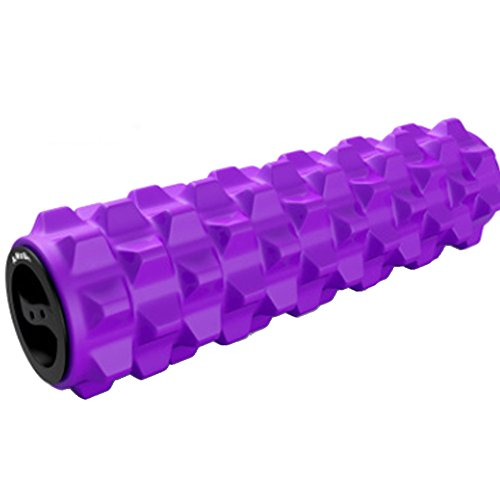 YAOBAO Trigger-Point Foam Roller Deep Tissue Muscle Massager High Density Firm Back Roller for Physical Therapy Fitness Stretching by YAOBAO