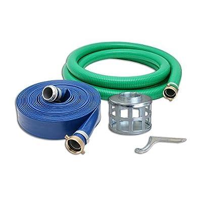 """Stanley ST4HK-4000-1145 -SSHS Trash Water Pump Hose Kit, 4"""""""