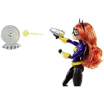 DC Super Hero Girls Blaster Action Batgirl Doll: Toys & Games