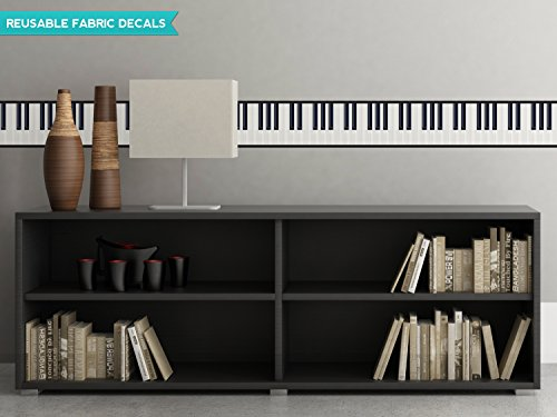 Sunny Decals Piano Wall Border Fabric Wall Decal (Set of 2), 25