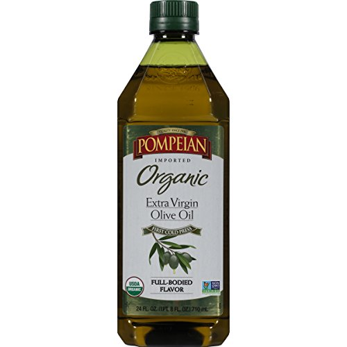 Pompeian Organic Extra Virgin Olive Oil, 16 Ounce