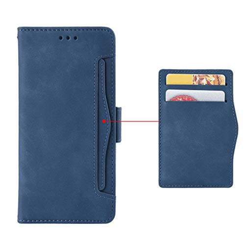 플립 케이스 IPHONE XS MAX 카드 소지자 IPHONE XS MAX 용 EXTRA-SHOCKPROOF KICKSTAND 가죽 커버 지갑