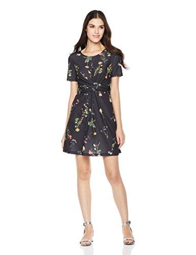 Neckline Knit Dress - 9