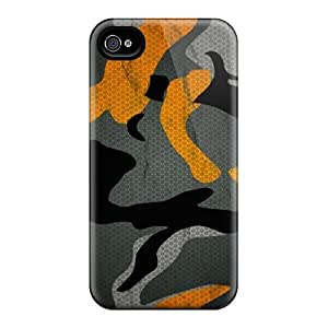 New DennisEM Super Strong Camo Tpu Case Cover For Iphone 4/4s