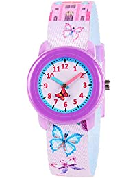 Kids Watches Cute Cartoon Waterproof Fabric Strap...