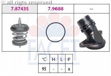 Facet - Engine Coolant Thermostat Kit - 7.8757K ()
