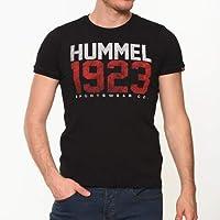Hummel Erkek HMLDICAN S/S T-Shirt, Siyah, M