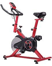 KUOKEL K601- Indoor Cycling Bike Exercise Bike with 22lb Flywheel (Adjustable Seat and Resistance, Digital Monitor, ODO, Calories, Heart Rate Sensor, Spining Bike Studio Cycles Exercise Machines