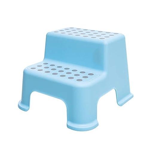 Escalera de tijera de plástico para niños, taburete para niños de ...