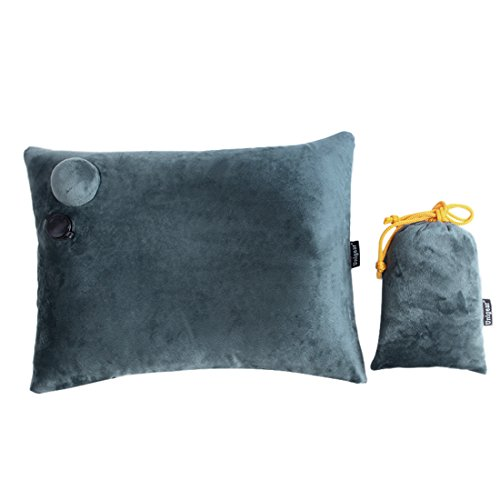 Inflatable Camping Pillow Compressible Backpacking