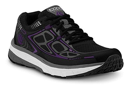 Chaussure De Course Topo Athlétique Magnifly - Femme Noir / Violet