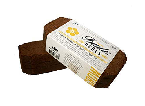 Thunder Acres Coco Coir Brick, OMRI Listed for Organic Use - Coir Brick
