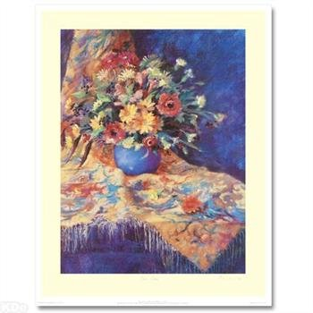 """Nel Whatmore - """"Blue Vase"""", LTD ED Lithograph, Hand Signed with Certificate of Authenticity!"""