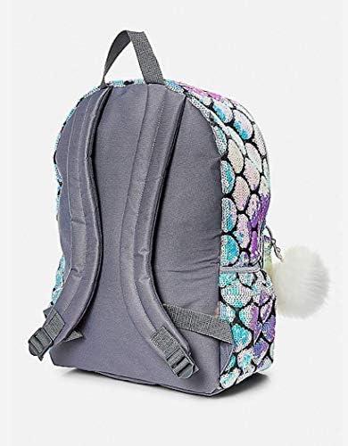726444ceecd7 Justice Mermaid School Backpack Letter Initial (M)