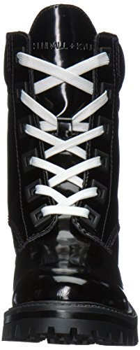 Kendall + Kylie Womens East Combat Boot Black