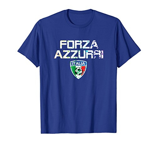 - Italia Jersey Shirt Forza Azzurri Paint Splatter Calcio