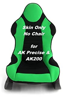 Fabulous Green Skin For Precise Racing Chair Includes Only 2Nd Gmtry Best Dining Table And Chair Ideas Images Gmtryco