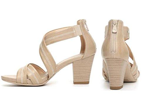 Nero Giardini - Sandalias de vestir de Piel para mujer Arena