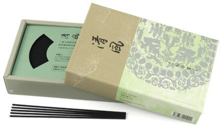 Fresh Breeze (Sei-fu) - Shoyeido Premium Daily Incense - 450 Stick Box by SHOYEIDO