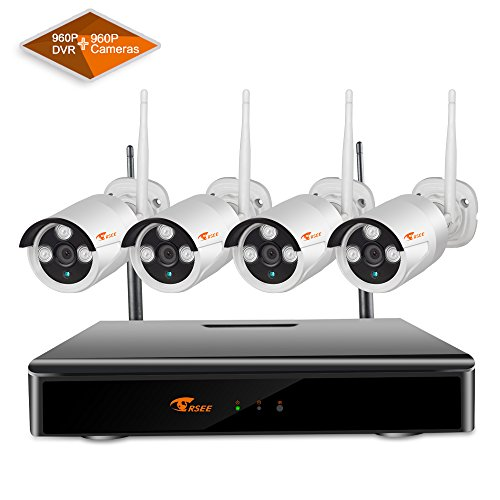 8CH-Expandable-SystemCORSEE-High-Definition-8CH-960P-DVR-Wireless-Security-Camera-System-with-4x13-Megapixel-Outdoor-Good-Night-Vision-Dome-CamerasNo-Hard-Drive-Optional-More-Wifi-Cameras