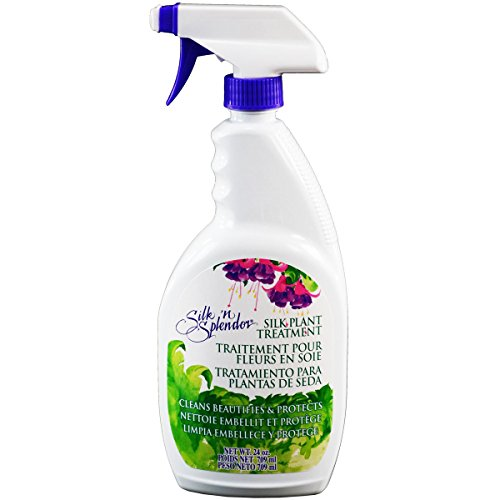 Flower Cleaner (FloraCraft Silk'n Splendor Silk Plant Treatment 24 Ounce)