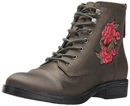 Madden Girl Women's fuze-P Combat Boot