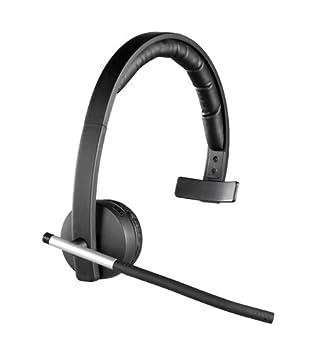 Logitech H820e - Auriculares inalámbricos de diadema cerrados (con micrófono, control integrado), color negro: Logitech: Amazon.es: Informática