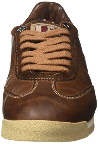 DAcquasparta Lorenzo, Sneaker a Collo Basso Uomo Marrone (Cuoio)