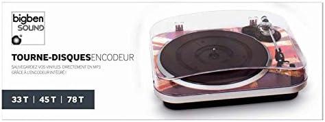 Bigben Interactive TD120 - Tocadiscos, diseño Union Jack: Amazon ...