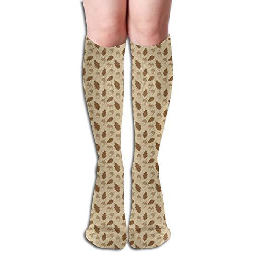 Agilitynoun Women's Socks Knee High Thigh Long Stocking Nut Winter Warm Sexy Stocks